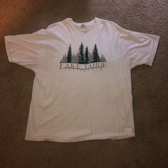 Hanes Other - Lake taho California single stitched T-shirt